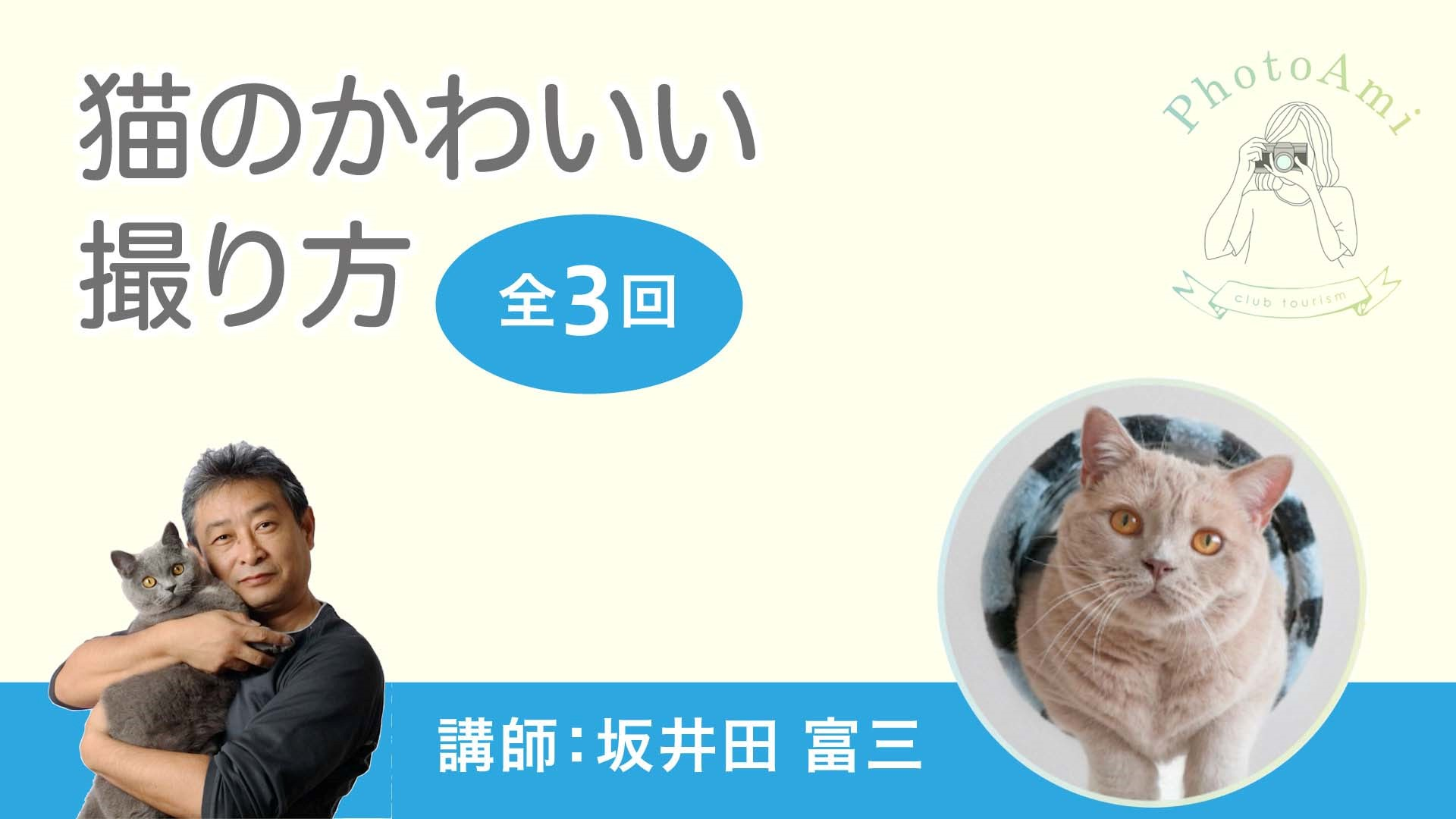 ★NEW★【写真】猫のかわいい撮り方<全3回>
